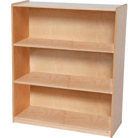 Wood DesignsTM Natural Bookshelf