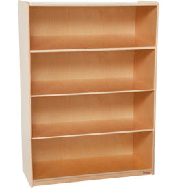 "Wood Designs™ X-Deep Bookshelf - 48""H x 18""D"