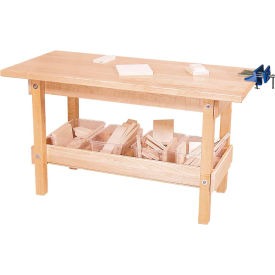 Wood Designs™ Workbench with Four Clear Trays and Wood