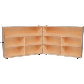 "Folding Versatile Storage Unit, 36""H"