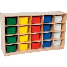 School Furniture Preschool Cubbies Twenty Tray Storage