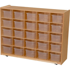 25 Tray Storage with Clear Trays