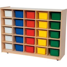 25 Tray Storage with Assorted Trays