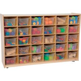 30 Tray Storage with Clear Trays