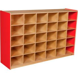 School Furniture Preschool Cubbies Strawberry Red 30