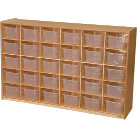 Tip-Me-Not 25 Tray Storage with Clear Trays