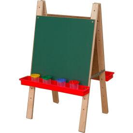 Wood Designs Tot Size Double Chalkboard Easel by