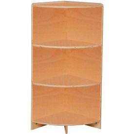 "Wood Designs™ 36"" High Corner Shelf"