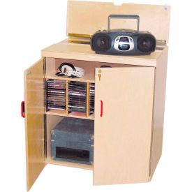 Wood Designs™ Lock-It-Up Audio Center