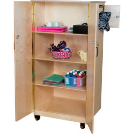 Wood Designs™ Teacher's Locking Cabinet