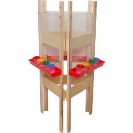 Wood Designs™ Three-Way Easel with Acrylic