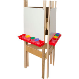 Wood Designs™ Three-Way Easel with Markerboard