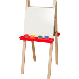 Wood Designs™ Double Easel with Markerboard