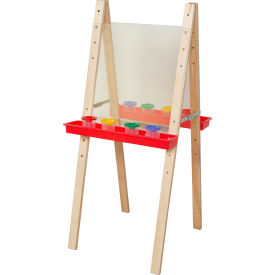 Wood Designs™ Double Easel with Acrylic Two Sides