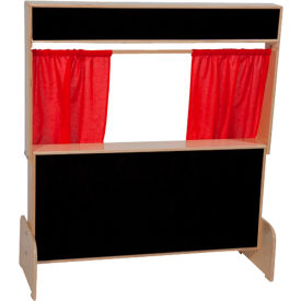 Wood Designs™ Deluxe Puppet Theater with Flannelboard