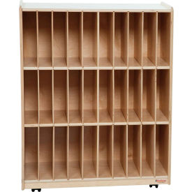 Wood Designs™ 30-Slot Portfolio Center