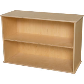 Wood Designs™ Two Shelf Modular Storage
