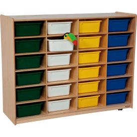 Storage with 24 Assorted Rectangular Trays