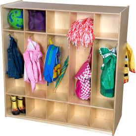 Ten Section Double Locker