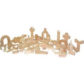 Wood Designs™ Preschool Blocks - 23 Shapes, 111 Pieces