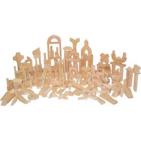 Wood Designs™ Classroom Blocks - 24 Shapes, 372 Pieces