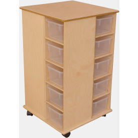School Furniture Preschool Cubbies Cubby Spinner With