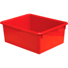 Rectangular Cubby Tray, Red