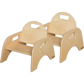 """Wood Designs™ Woodie, 5"""" Seat Height, Carton of Two"""