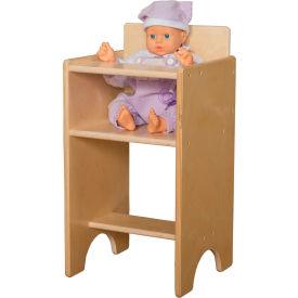 Wood Designs™ Doll High Chair
