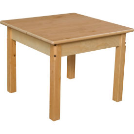 """Wood Designs™ 24"""" Square Table with 20"""" Legs"""