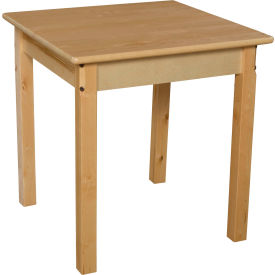 "Wood Designs™ 24"" Square Table with 22"" Legs"