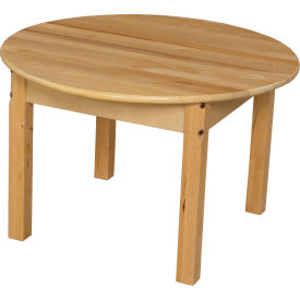 """Wood Designs™ 30"""" Round Table with 20"""" Legs"""