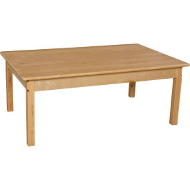 """Wood Designs™ 30"""" x 48"""" Rectangle Table with 22"""" Legs"""