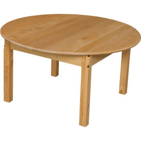 "Wood Designs™ 36"" Round Table with 18"" Legs"