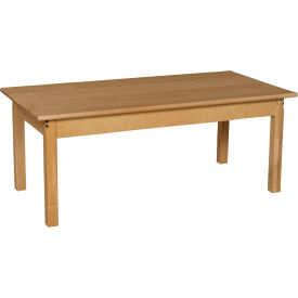 """Wood Designs™ 24"""" x 48"""" Rectangle Table with 24"""" Legs"""