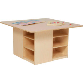 Wood Designs™ Cubby Table without Trays