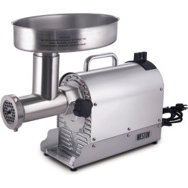 Weston Pro Series10-0801-W #8 Meat Grinder 3/4 HP by