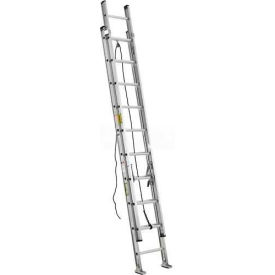Green Bull Series 6091 Aluminum Single Ladder - 16' 609116