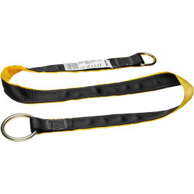 Werner A111010 10'L Web Cross Arm Strap, O-Ring & D-Ring by