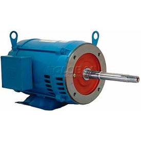 WEG Close-Coupled Pump Motor-Type JP, 00318OP3E182JP, 3 HP, 1800 RPM, 230/460 V, ODP, 3 PH