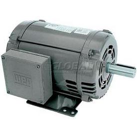 WEG General Purpose Single Phase Motor, 00318OS1C184T, 3HP, 1800RPM, 208-230V, 184T, ODP