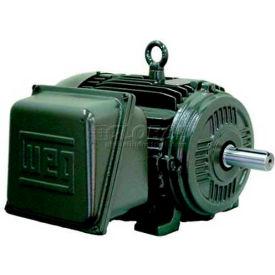 WEG General Purpose Single Phase Motor, 00512ES1E215T, 5HP, 1200RPM, 208-230/460V, 215T, TEFC