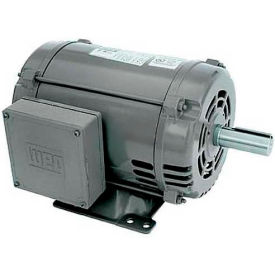WEG General Purpose Single Phase Motor, 00736OS1C184T, 7.5HP, 3600RPM, 208-230V, 184T, ODP