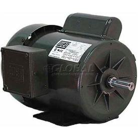 WEG Fractional Single Phase Motor, .2518ES1BB56, 0.25HP, 1800RPM, 115/208-230V, B56, TEFC