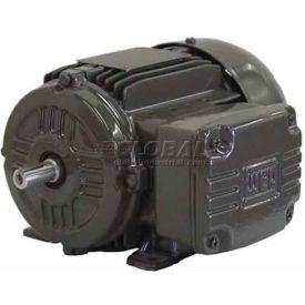 WEG IEC TRU-METRIC™ IE2 Motor, .3709EP3EAL90S, 0.5HP, 900/750RPM, 3PH, 230/460V, 90S, TEFC