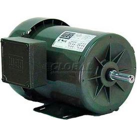 WEG Fractional 3 Phase Motor, .7518ES3EB56, 0.75HP, 1800RPM, 208-230/460V, B56, TEFC