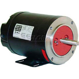 WEG Fractional 3 Phase Motor, .7536OS3EB56, 0.75HP, 3600RPM, 208-230/460V, B56, ODP