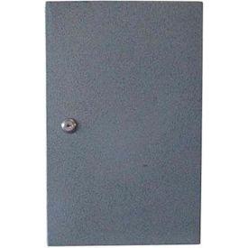 """Wilson Safe Pharmacy Safe EMSNB1SL Key Lock 9-1/2""""W x 4-1/2""""D x 14-3/4""""H, Gray"""