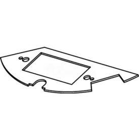 Wiremold Crfb-Gfi-1 Floor Box Round Floor Box Gfi Plate - Pkg Qty 10