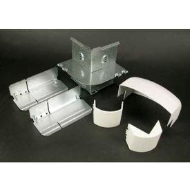 "Wiremold DS4018-DG External Elbow, Designer Gray, 3-1/2""L"